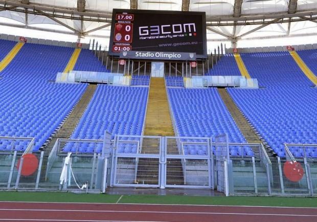 Roma – Samp, ancora cori razzisti contro Napoli: Olimpico verso la chiusura?