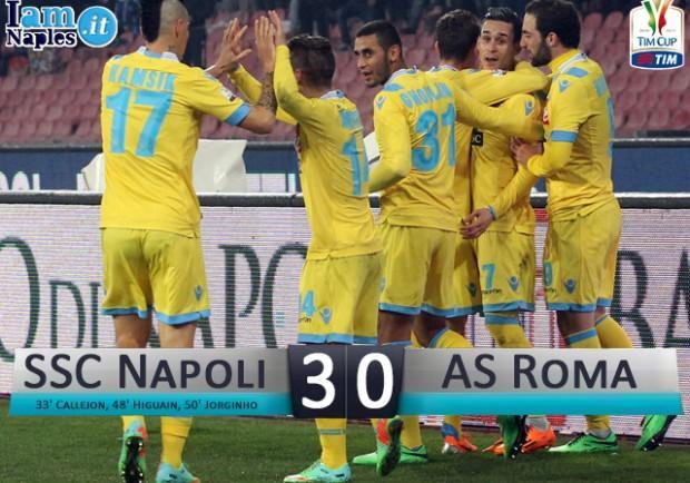 Napoli-Roma 3-0, le pagelle: Higuaìn e Reina da leader, Jorginho professore, Callejòn e Mertens spine nel fianco!