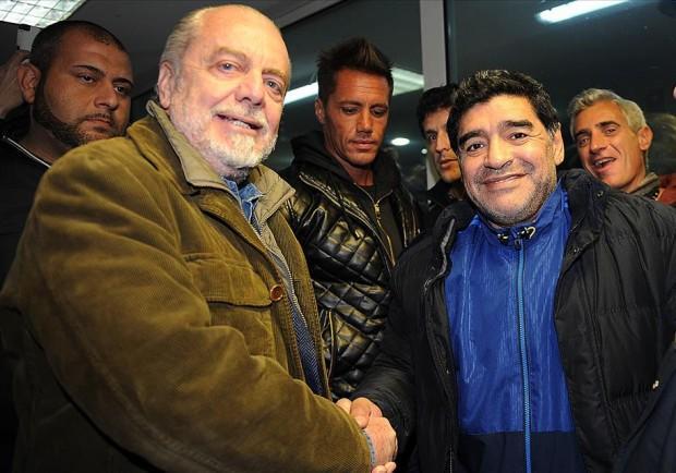 """Maradona: """"Io ambasciatore del Napoli nel mondo? Certo, se ne può parlare"""""""