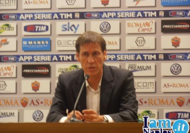 """Rudi Garcia: """"Siamo una squadra di qualità. A Napoli per vincere!"""""""