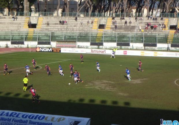 """FOTO – Viareggio Cup, la Primavera azzurra al """"Bresciani"""" per Genoa-Sampdoria"""