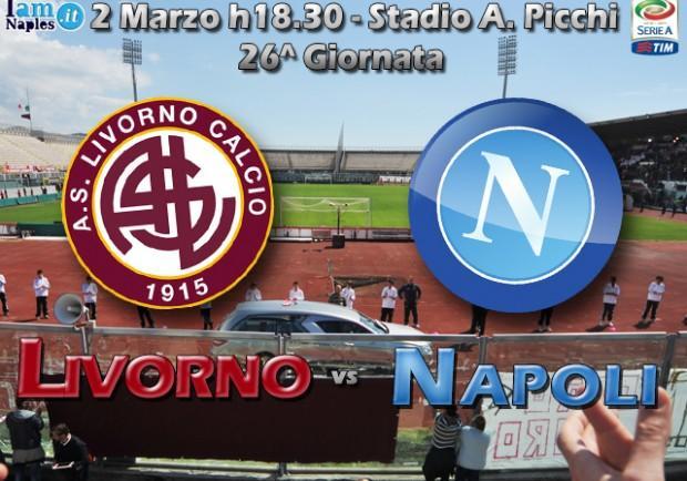 RILEGGI IL LIVE – Livorno-Napoli 1-1 (31′ rig. Mertens; 39′ aut. Reina). Il muro amaranto blocca gli azzurri