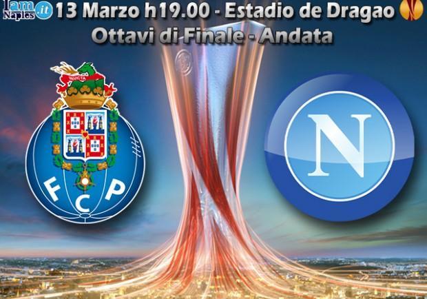 Porto-Napoli, in casa dell'avversario. Una squadra di velocisti, con un Jackson Martinez in più