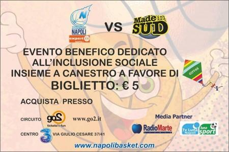 Made in Sud-Napoli Basket, domani conferenza stampa di presentazione dell'evento