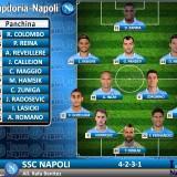 GRAFICO – Samp-Napoli, le formazioni. Benitez cambia i 5/11 della squadra: ecco le sue scelte