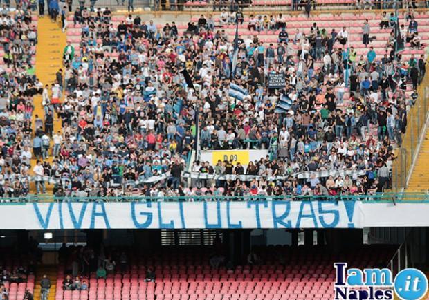 """FOTO – Ancora un messaggio contro De Laurentiis: """"Restiamo ostili…"""""""