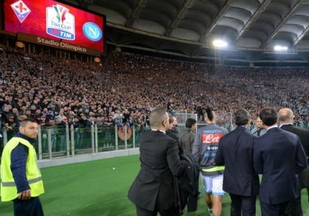 Roma-Napoli, previste severe misure di sicurezza: i dettagli