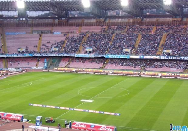 Napoli, scatta l'allarme stadio. Scelta Palermo come sede alternativa