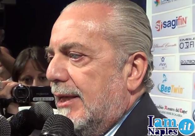 """De Laurentiis: """"Balotelli al Napoli? Dovrebbe prima risolvere i suoi problemi"""""""