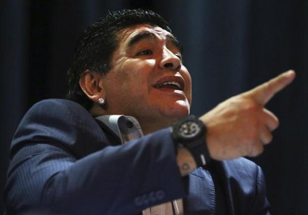 """Maradona è a Roma: """"Non sono un evasore. Voglio ritornare a Napoli da uomo libero"""""""