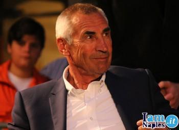 L'ex allenatore del Napoli Edy Reja, incontro amarcord con De Laurentiis