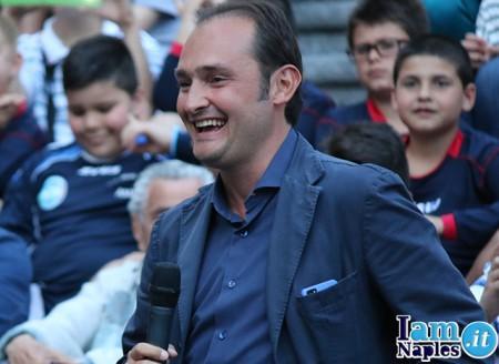 Il collega di Sky Sport Gianluca Di Marzio