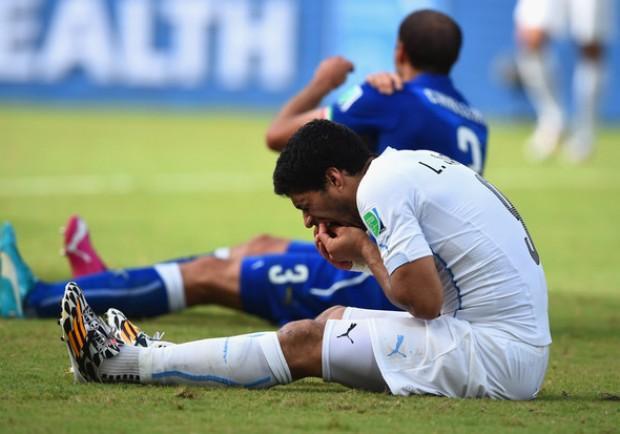 """Chiellini risponde a Suarez: """"Tutto dimenticato, spero che la Fifa riduca la squalifica"""""""