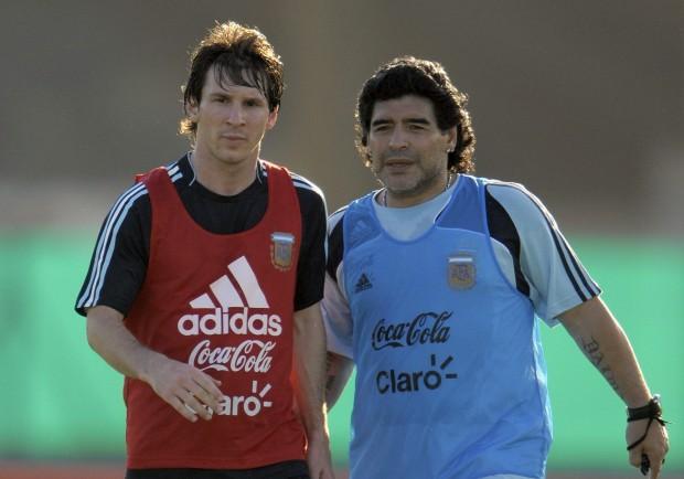 "Maradona: ""Messi o Cristiano Ronaldo? Dico…"""