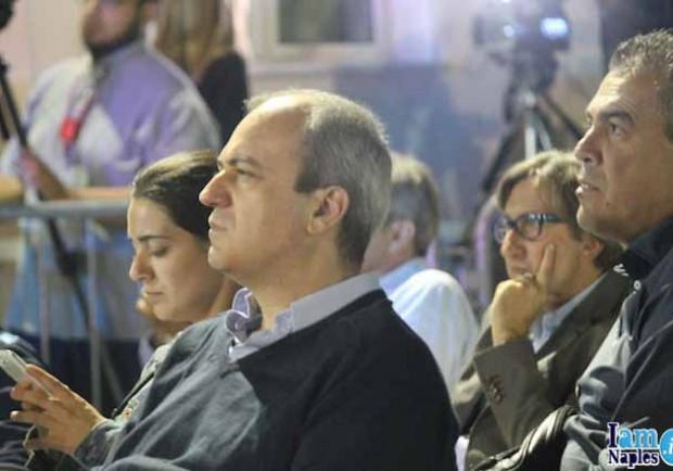 """FOTO – Incontro Quilon-De Laurentiis, presente anche """"l'uomo dei contratti"""" Andrea Chiavelli"""