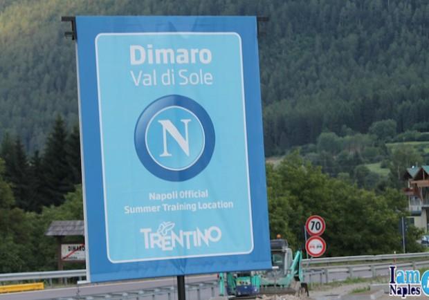 Napoli, comincia il ritiro a Dimaro: alle 17.30 il primo allenamento