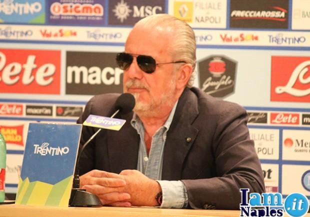 De Laurentiis, rabbia e incoraggiamento alla squadra: promesso un premio in caso di terzo posto
