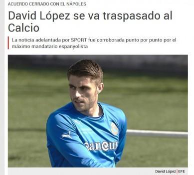 David Lopez_Sport