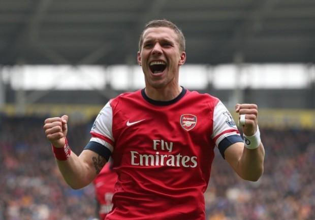 Inter, Podolski ad un passo. Ausilio a Londra per trovare l'accordo con l'Arsenal