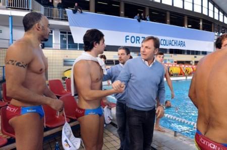 """Pallanuoto, il day-after di Franco Porzio: """"L'arma vincente del derby vinto ieri è stato il gruppo"""""""
