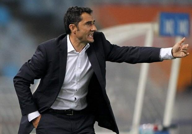 """Barcellona, Valverde avvisa: """"Roma una lezione. E lo United è speciale"""""""