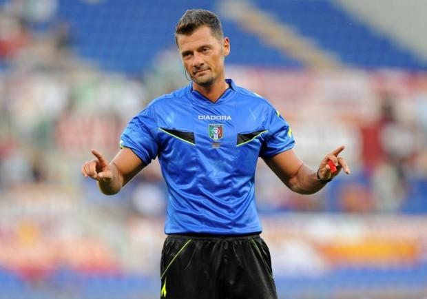 Napoli-Atalanta, sarà Giacomelli l'arbitro del match