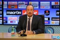 """VIDEO INTEGRALE – Benitez in conferenza stampa: """"Gargano è disponibile, Zuniga potrebbe essere operato"""""""