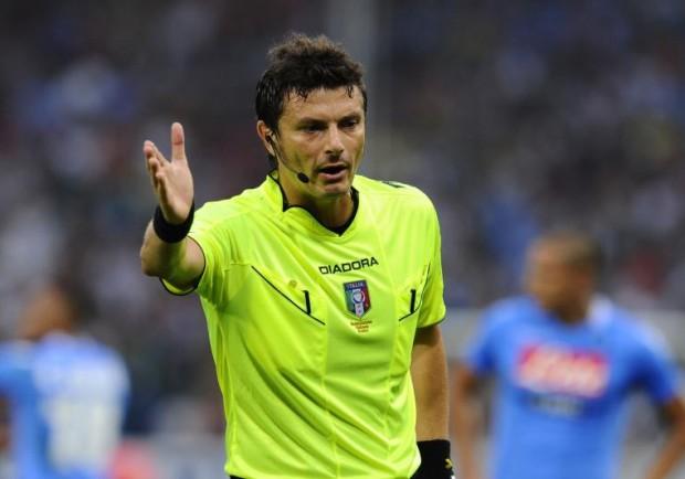 Genoa-Napoli, sarà Damato l'arbitro del match