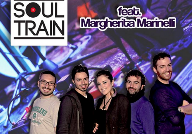 Soul Train Live feat.Margherita Marinelli al Fabric Hostel & Club