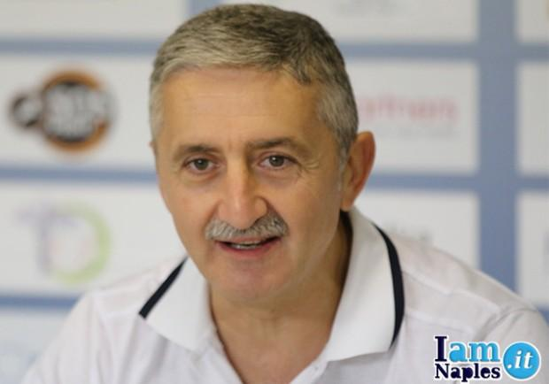 VIDEO – Givova Napoli-Ferentino, la conferenza stampa integrale di coach Calvani