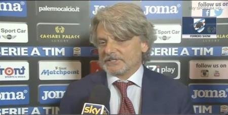 """La battuta di Ferrero in risposta a De Laurentiis: """"Io esercente? Forse perchè esercito…"""""""