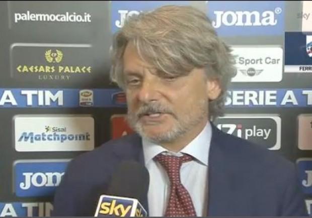 """Ferrero: """"Solo un punto di svantaggio dal Napoli? Ce lo siamo meritati"""""""