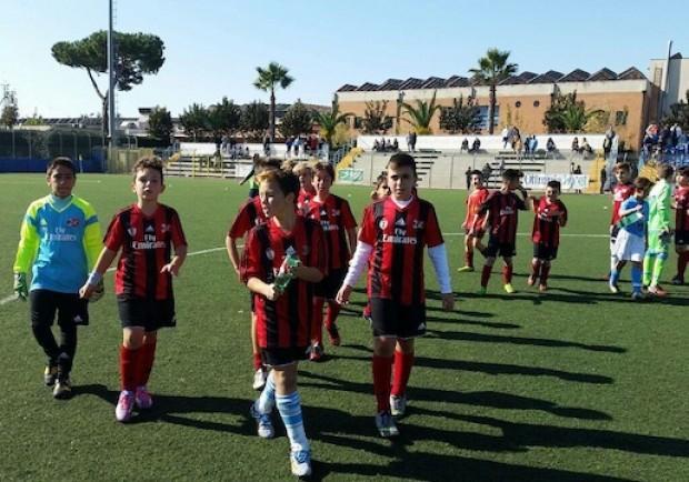 Luigi Vitale A.C. Milan, i risultati del weekend: tante vittorie per la scuola calcio di Casoria