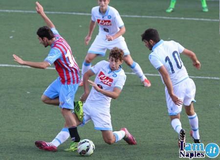 PHOTOGALLERY – Tim Cup Primavera: Napoli-Catania 1-0 (dts), ecco gli scatti di IamNaples.it