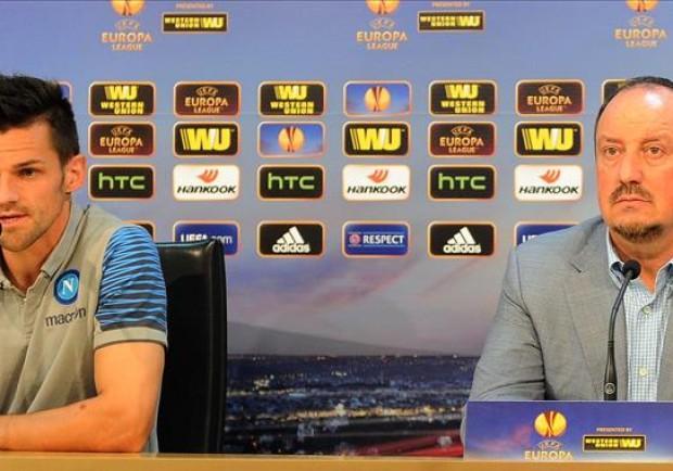 """RILEGGI IL LIVE – Benitez e Maggio: """"Gruppo unito, sapremo reagire alle critiche. Lavoriamo per vincerle tutte"""""""