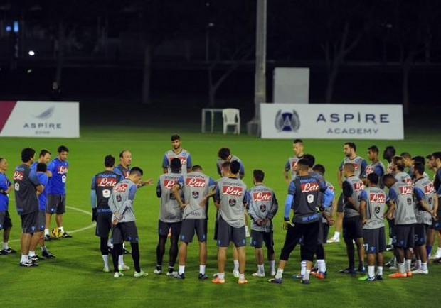VIDEO – Dinamo Mosca-Napoli: la rifinitura degli azzurri all'Arena Chimki