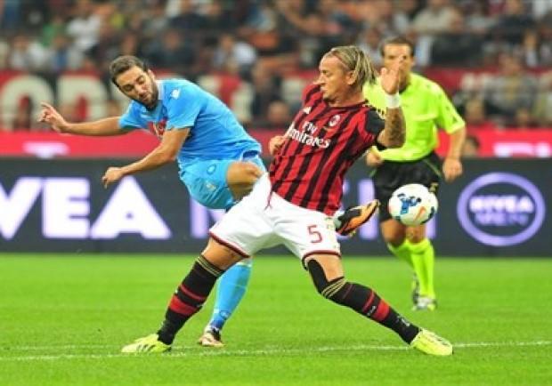 VIDEO – Napoli-Milan 0-0: Higuain fallisce un rigore al 2′