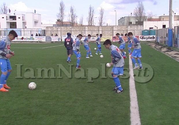 Giovanissimi Regionali, Fascia B. Sport Village-Napoli 0-2: gli azzurrini la risolvono nella ripresa