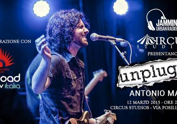 Unplugged apre con Antonio Manco