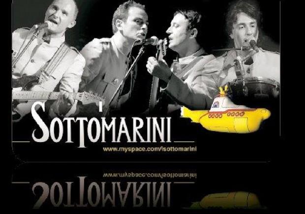 La Beatle-band italiana sul palco del Nottingham Pub