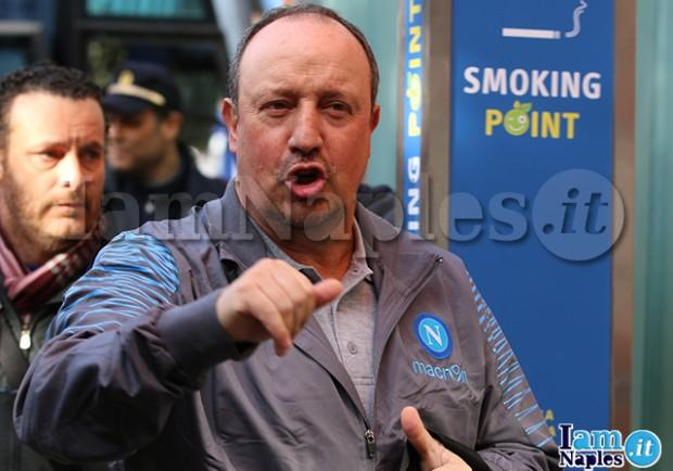 Radio KissKiss – Il Napoli farà ricorso per la squalifica a Rafa Benitez