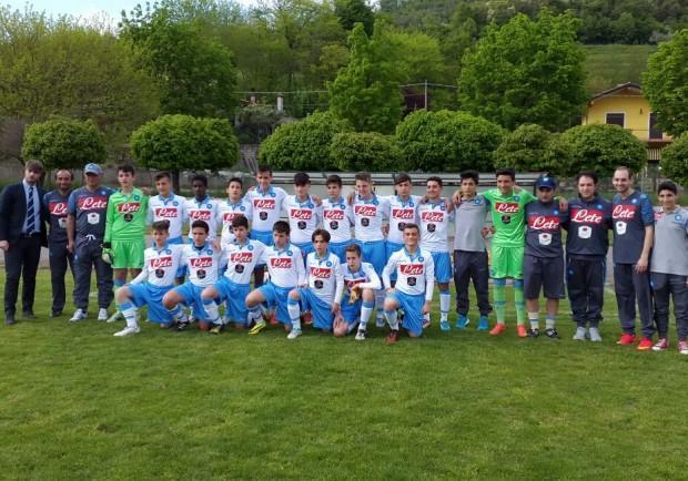 Giovanissimi Regionali Fascia B, Monteruscello-Napoli 3-1: gli azzurrini vanno ko