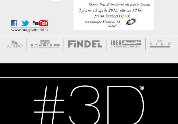 #3D Magazine: nuovo periodico free press al femminile