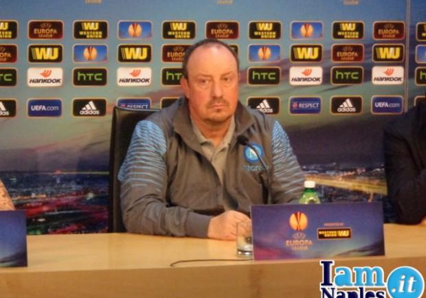 """Benitez: """"Dobbiamo giocare a Kiev come a Wolfsburg. Sul mio futuro dico che…"""""""