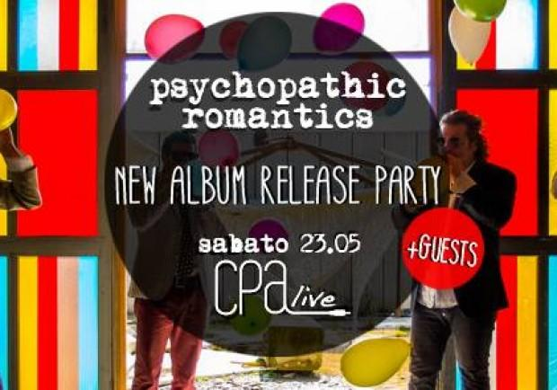 """PSYCHOPATHIC ROMANTICS: """"BREAD AND CIRCUSES"""" RELEASE PARTY!"""