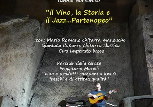Il Tunnel Borbonico presenta il Neapolitan Gipsy Jazz di Mario Romano
