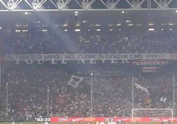 """Genoa-Napoli, i rossoblù annunciano: """"Arriva la capolista"""""""