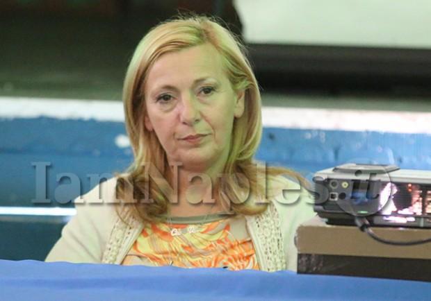 """Antonella Leardi: """"Sono momenti bruttissimi. Ringrazio De Laurentiis, voglio solo giustizia e un calcio migliore"""""""