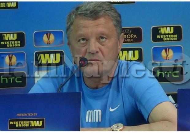 """Markevych: """"Il Napoli ha giocato meglio di noi, al ritorno faremo di più"""""""