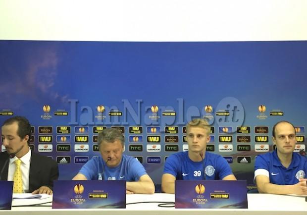 """RILEGGI IL LIVE – Markevych: """"Vogliamo sovrastare il Napoli a centrocampo. Su Strinic vi dico che…"""""""